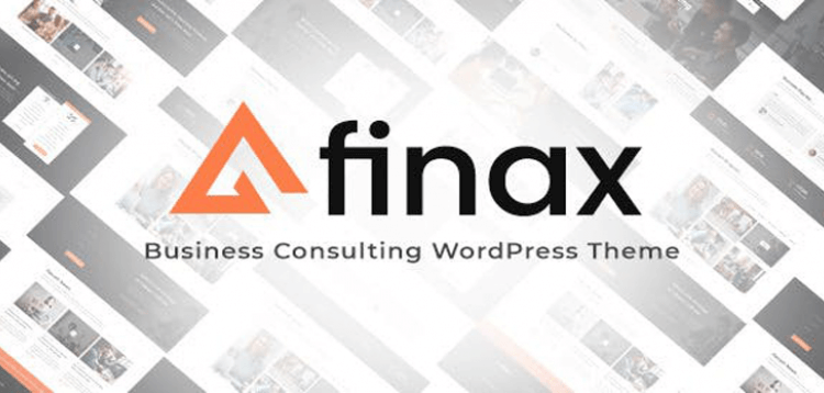 Item cover for download Finax | Responsive Business Consulting WordPress Theme