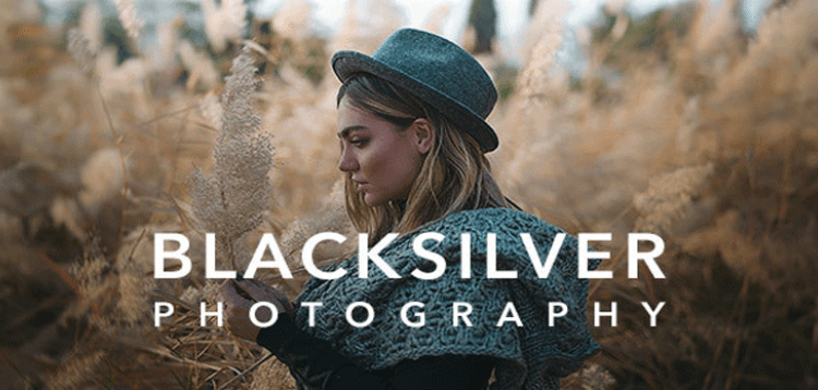 Item cover for download Blacksilver | Photography Theme for WordPress