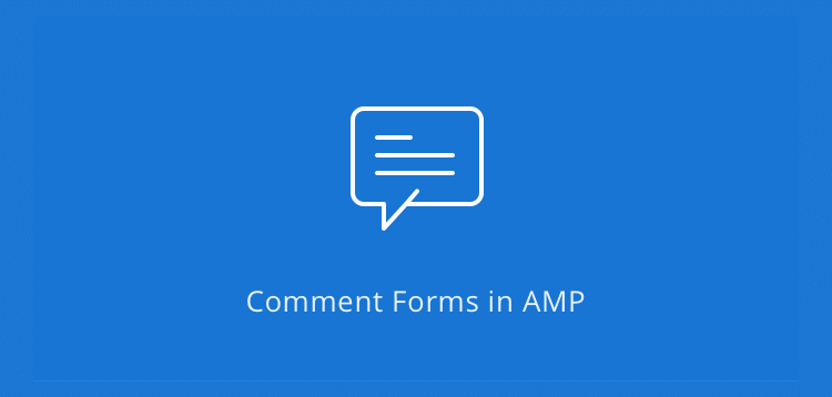 Item cover for download AMPforWP - Comment Form for AMP