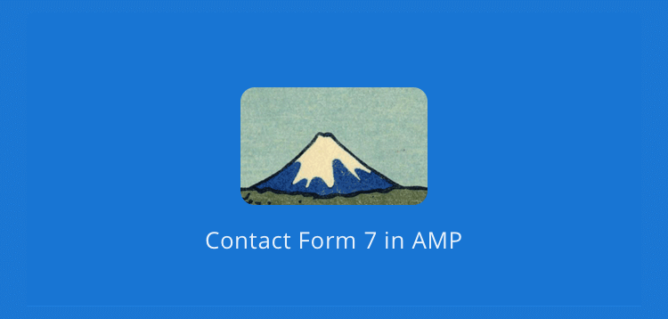 Item cover for download AMPforWP - Contact Form 7 Support in AMP