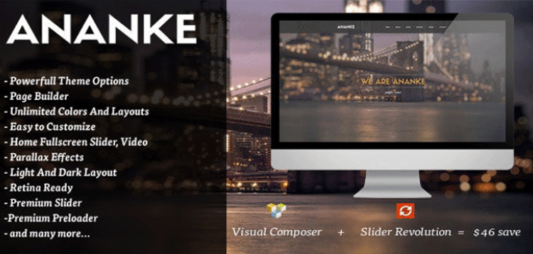 Item cover for download Ananke - One Page Parallax WordPress Theme