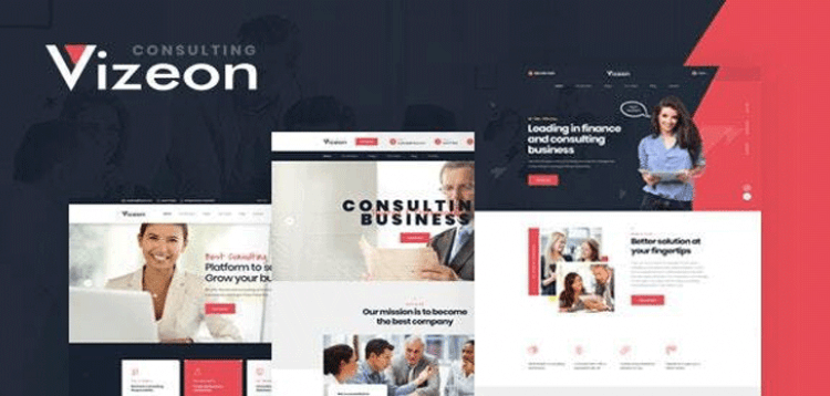 Item cover for download Vizeon - Business Consulting WordPress Themes