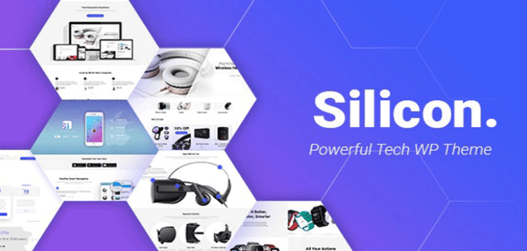 Item cover for download Silicon - Startup and Technology WordPress Theme