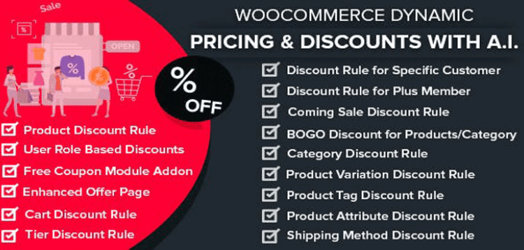 Item cover for download WooCommerce Dynamic Pricing  Discounts with AI