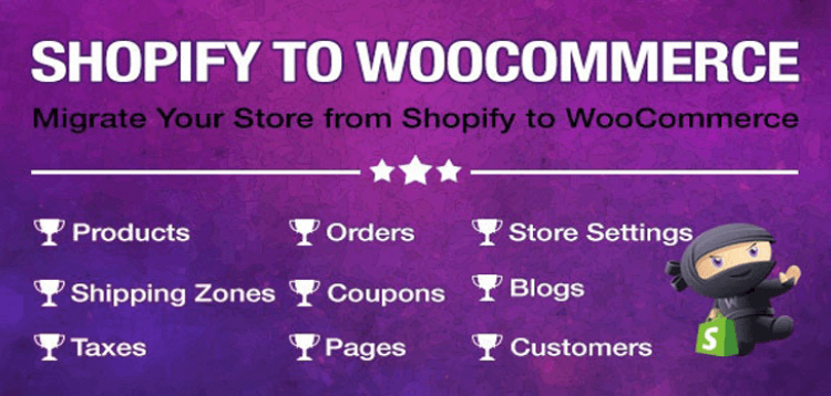 Item cover for download Import Shopify to WooCommerce - Migrate Your Store from Shopify to WooCommerce