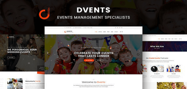 Item cover for download Dvents - Events Management Companies and Agencies WordPress Theme