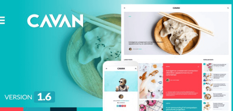 Item cover for download CAVAN - A Distinctive WordPress Blog Theme