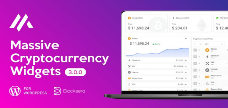 Item cover for download Massive Cryptocurrency Widgets