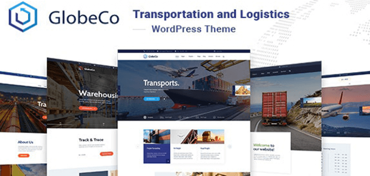 Item cover for download GlobeCo - Transportation  Logistics WordPress Theme