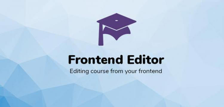 Item cover for download LEARNPRESS – FRONTEND EDITOR