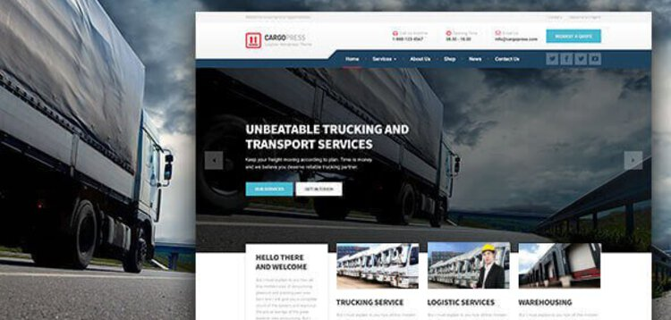 Item cover for download CARGOPRESS – LOGISTIC WAREHOUSE  TRANSPORT WP