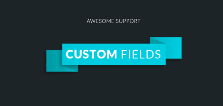Item cover for download AWESOME SUPPORT – CUSTOM FIELDS