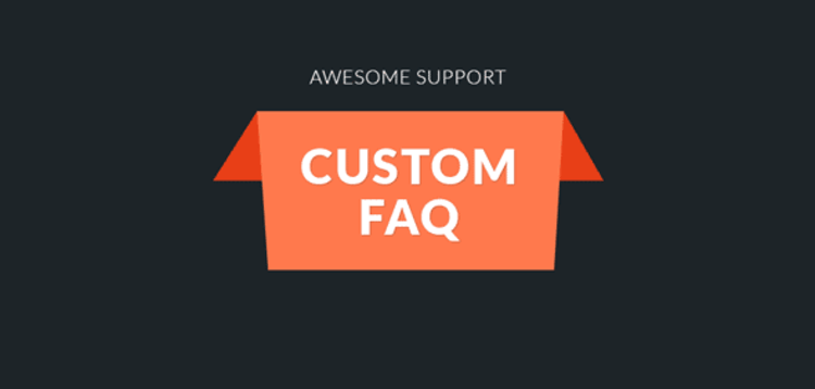 Item cover for download AWESOME SUPPORT – CUSTOM FAQ