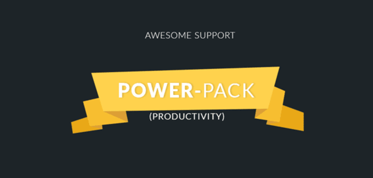 Item cover for download AWESOME SUPPORT – POWER-PACK (PRODUCTIVITY)