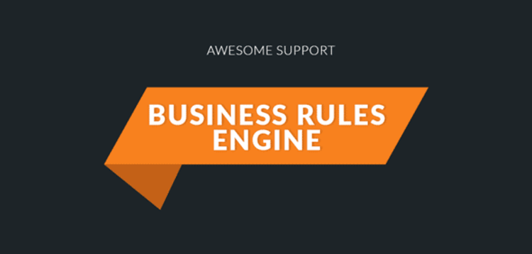 Item cover for download AWESOME SUPPORT – BUSINESS RULES ENGINE