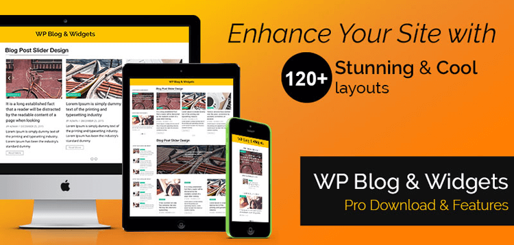Item cover for download WP OnlineSupport WP Blog and Widgets Pro