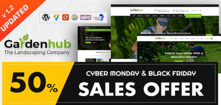Item cover for download Garden HUB - Lawn  Landscaping WordPress Theme