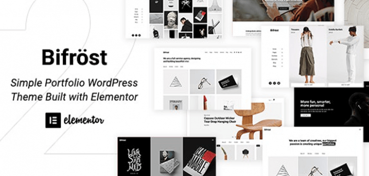 Item cover for download Bifrost - Simple Portfolio WordPress Theme