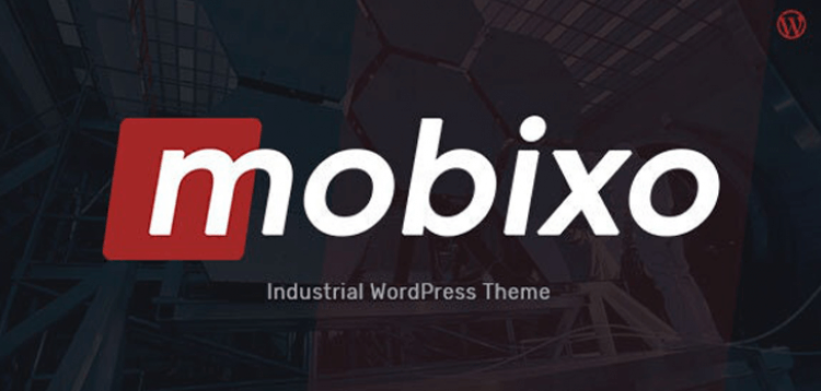 Item cover for download Mobixo | Industry WordPress Theme