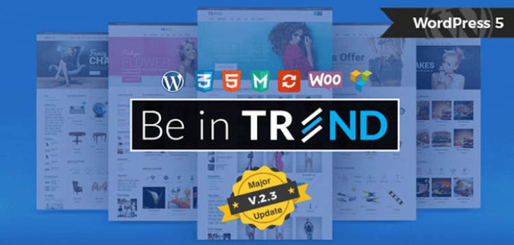 Item cover for download Trend - Multi-Niche WooCommerce Theme
