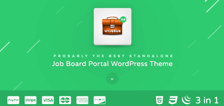 Item cover for download WPJOBUS – JOB BOARD AND RESUMES WORDPRESS THEME