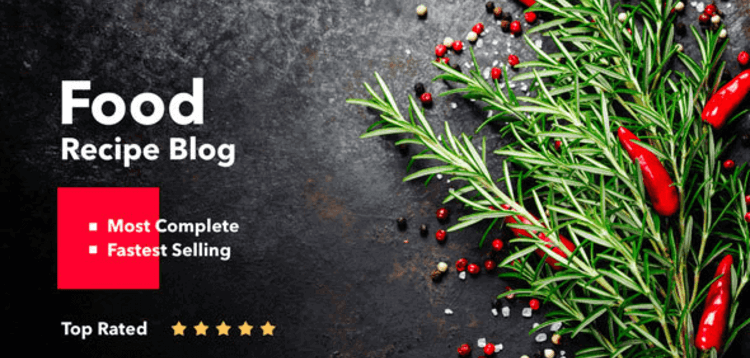 Item cover for download NEPTUNE – THEME FOR FOOD RECIPE BLOGGERS  CHEFS