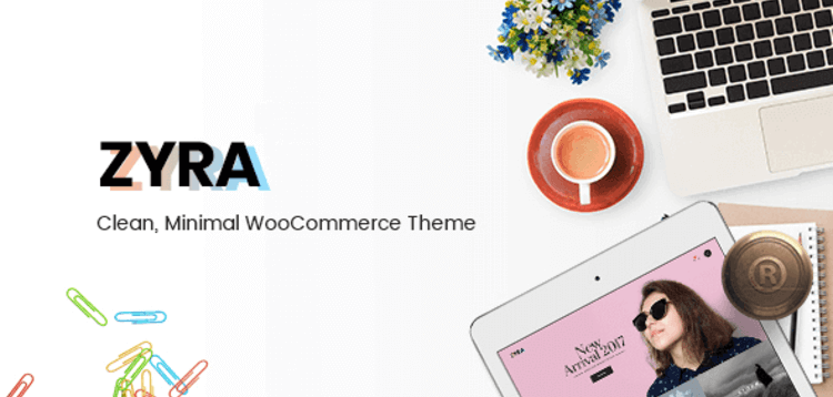 Item cover for download ZYRA – CLEAN MINIMAL WOOCOMMERCE THEME