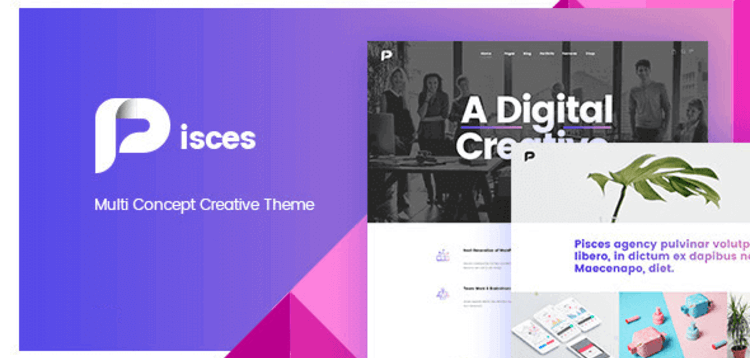 Item cover for download PISCES – MULTI CONCEPT CREATIVE THEME