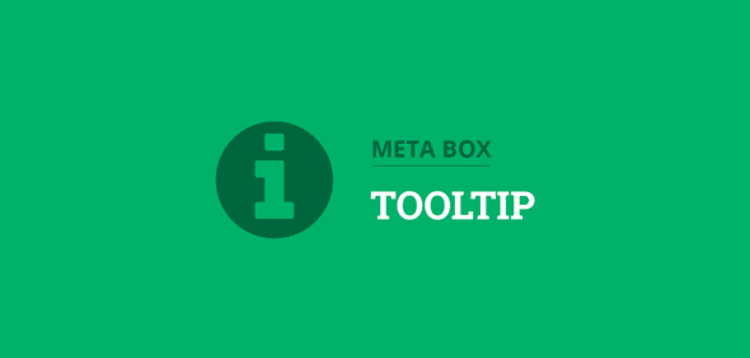 Item cover for download METABOX - TOOLTIP