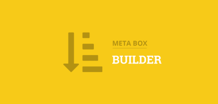 Item cover for download METABOX - BUILDER