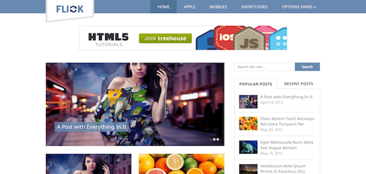 Item cover for download MyThemeShop Flick WordPress Theme