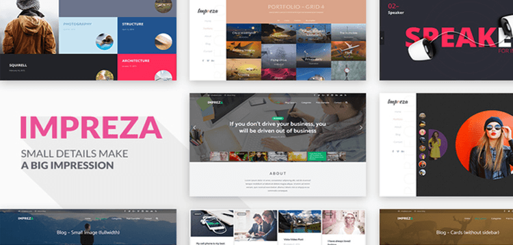Item cover for download Impreza - Retina Responsive WordPress Theme
