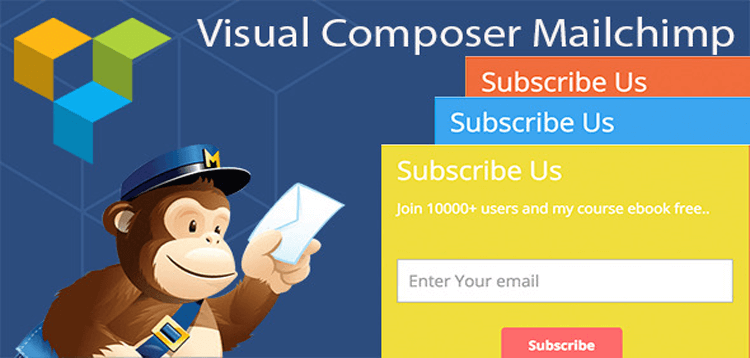 Item cover for download Visual Composer Mailchimp Addon
