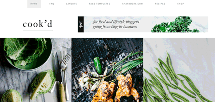 Item cover for download STUDIOPRESS COOK'D PRO THEME