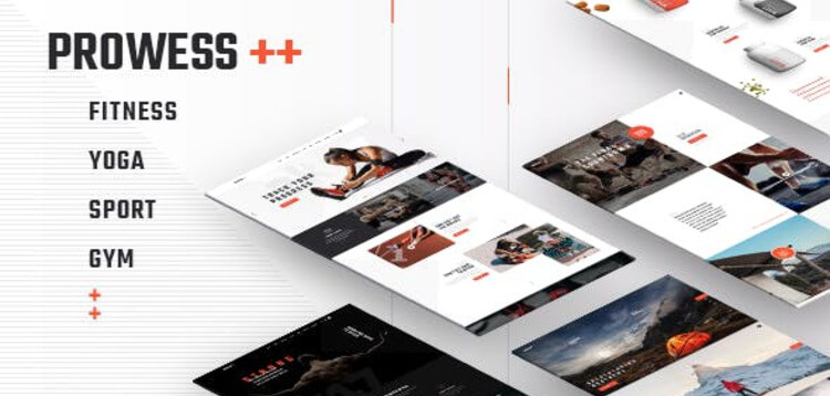 Item cover for download PROWESS - FITNESS AND GYM WORDPRESS THEME