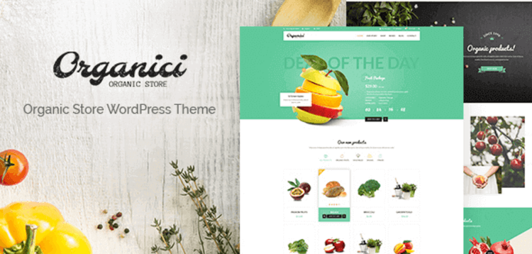 Item cover for download ORGANICI – ORGANIC STORE BAKERY WOOCOMMERCE THEME