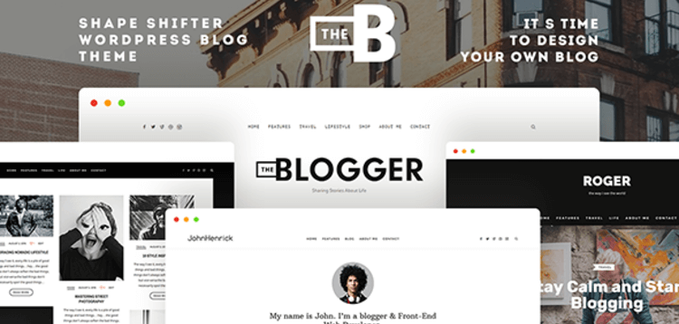 Item cover for download THEBLOGGER - A WORDPRESS BLOGGING THEME FOR BLOGGERS