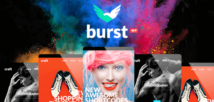 Item cover for download BURST – A BOLD AND VIBRANT WORDPRESS THEME