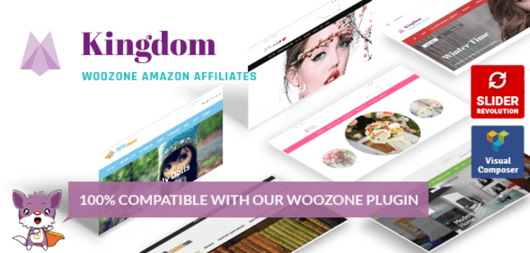 Item cover for download KINGDOM – WOOCOMMERCE AMAZON AFFILIATES THEME