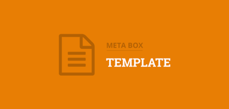 Item cover for download METABOX - TEMPLATE