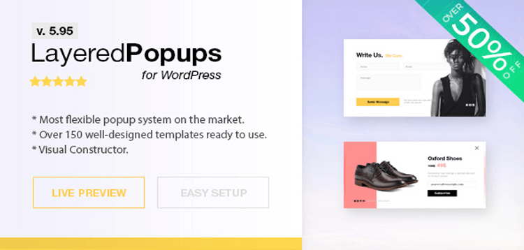 Item cover for download Popup Plugin for WordPress - Layered Popups