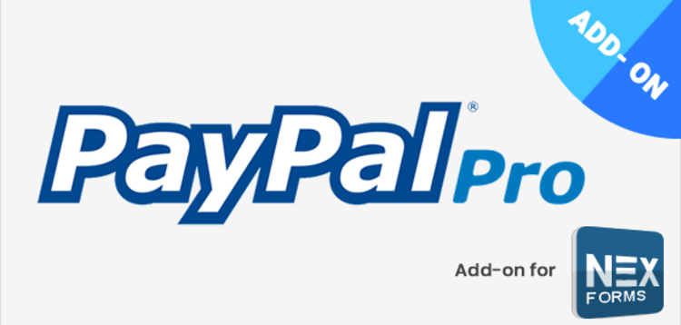 Item cover for download PAYPAL PRO FOR NEX-FORMS