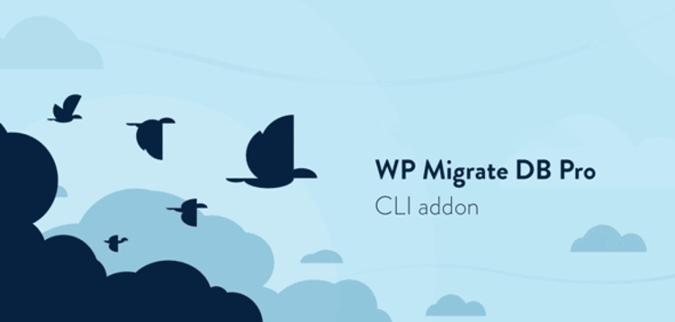 Item cover for download WP MIGRATE DB PRO - CLI ADDON