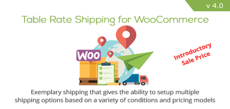 Item cover for download Table Rate Shipping for WooCommerce