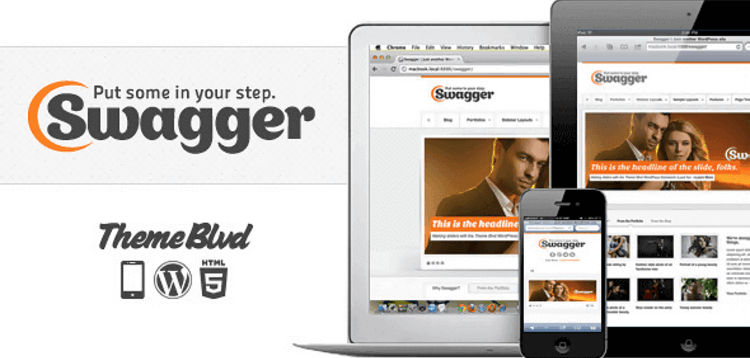 Item cover for download SWAGGER – RESPONSIVE WORDPRESS THEME