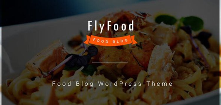 Item cover for download FLYFOOD - CATERING AND FOOD WORDPRESS THEME