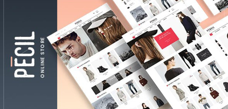 Item cover for download PECIL - AWESOME FASHION WOOCOMMERCE THEME