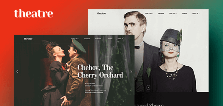 Item cover for download THEATRE WP – ART CULTURE  ENTERTAINMENT WORDPRESS THEME