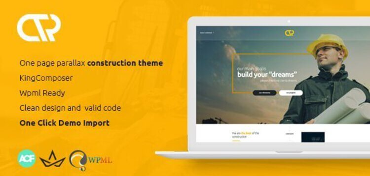 Item cover for download CONSTA - ONE PAGE CONSTRUCTION WORDPRESS THEME