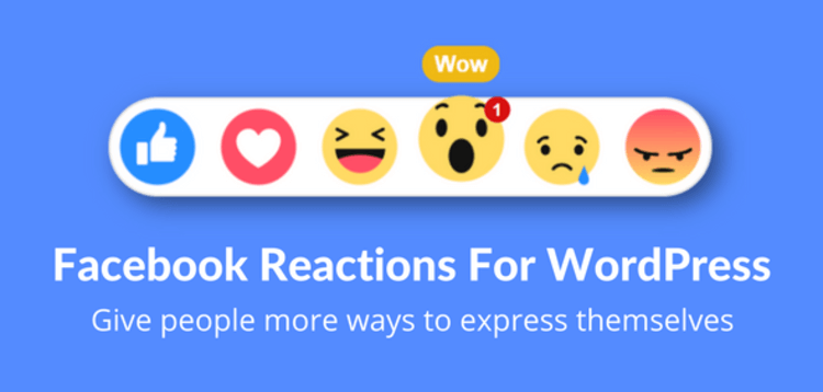 Item cover for download FACEBOOK REACTIONS FOR WORDPRESS